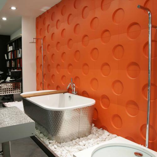 revetement mur de salle de bain domozoom