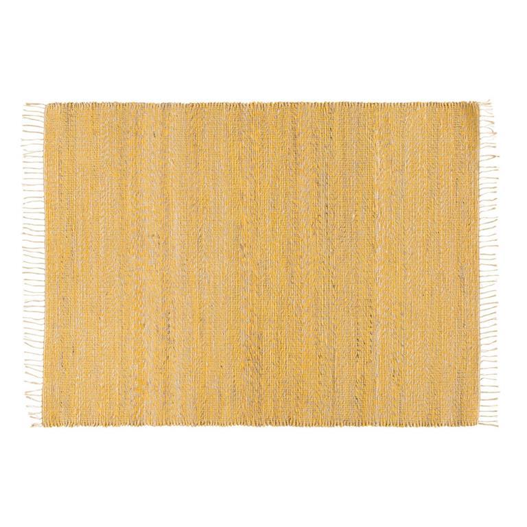 jute et coton jaune 160x230 maisons