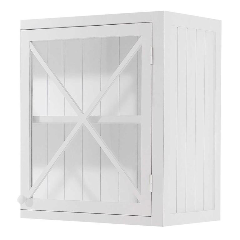 meuble haut de cuisine 1 porte vitree