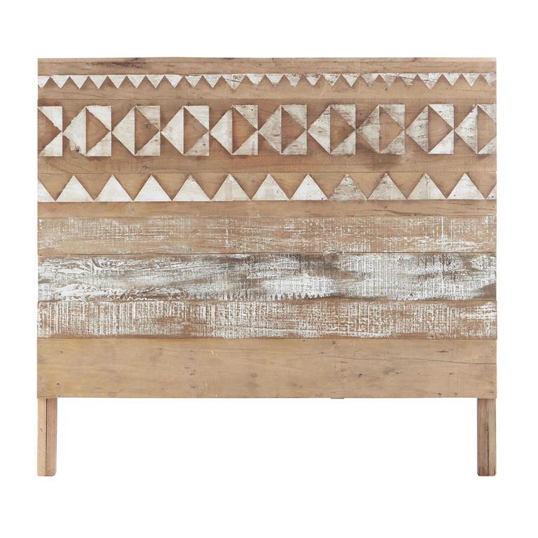 motifs en bois recycle l 140 cm tikka