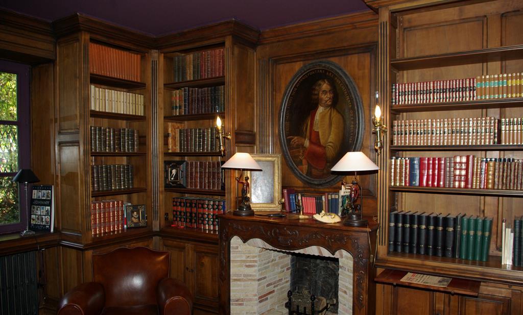 Bureau Amp Bibliothque Priv Imagine Photo N18 Domozoom