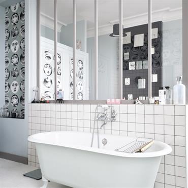 salles de bain taupe idee decoration