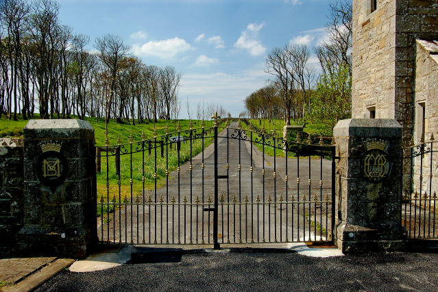 Gate For Classiebawn Castle Joseph Mischyshyn