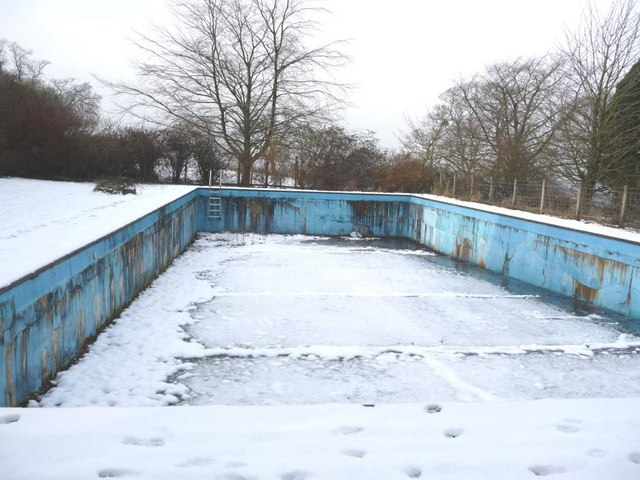 Image result for bad pool in the winter