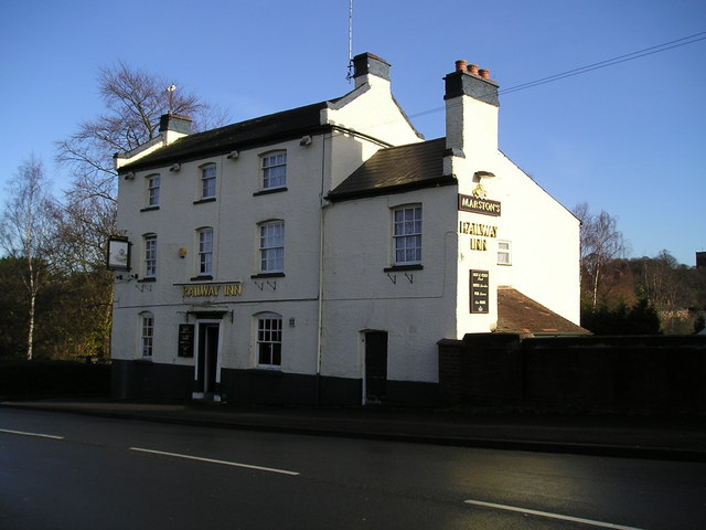 The Railway Inn Pub Droitwich 169 Canalandriversidepubs Co