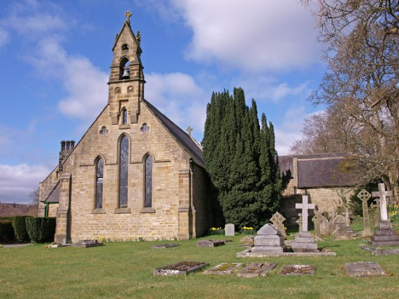 St. Oswald's Church, Bellingham © wfmillar cc-by-sa/2.0