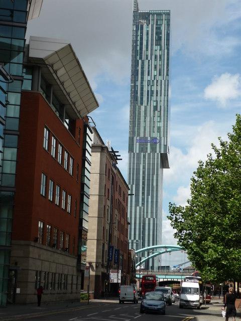 Beetham Tower Manchester 169 Graham Hogg Geograph