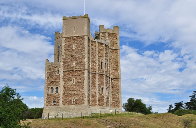 Orford Castle 169 Ashley Dace Geograph Britain And Ireland