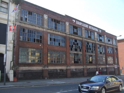 Image result for derelict factory liverpool