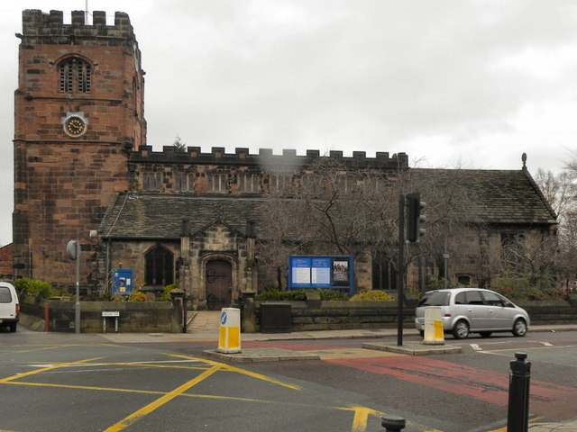 St Mary S Church Cheadle C David Dixon Geograph