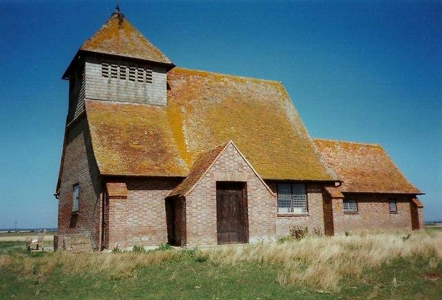 St Thomas a Becket Church, Fairfield, © Roger Smith :: Geograph