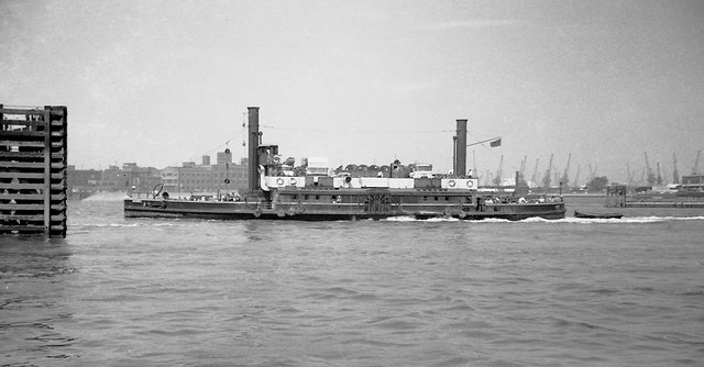 The Woolwich Paddle Steamer Ferry In Roger Kidd Cc By