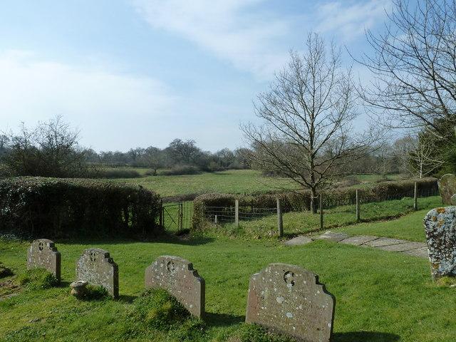 St Mary, Shipley: churchyard (1)