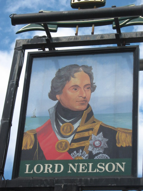 Lord Nelson Pub Sign 169 David Anstiss Geograph Britain