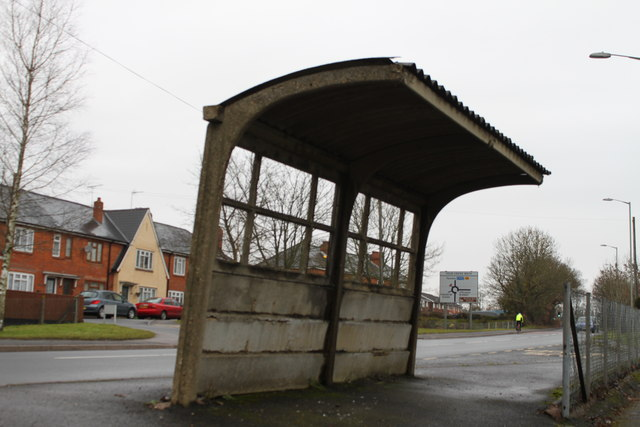 Concrete Bus Shelter 169 Michael Hill King Cc By Sa 2 0