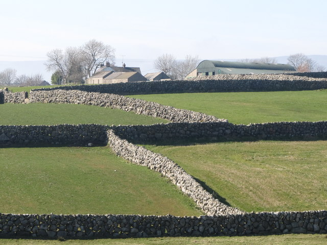Stone Wall Enclosed Fields And 169 Eric Jones Cc By Sa 2