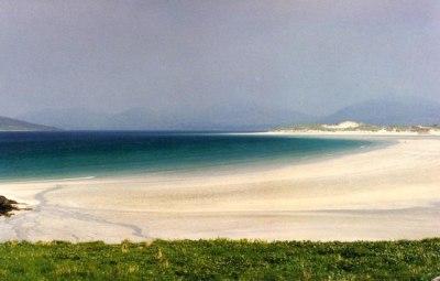 Tràigh Sheileboist on the Isle of Harris © D Gore cc-by-sa ...