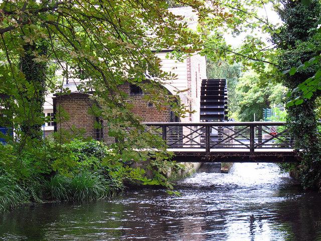 Restored Waterwheel In Morden Hall Park 169 Stephen Craven