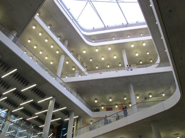 City Of Westminster College Atrium And 169 David