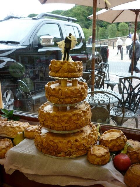 A Pork Pie Wedding Cake At Eley S Of 169 Ian S