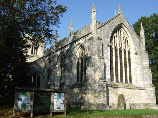 All Saints Church, Bolton Percy © JThomas :: Geograph Britain and