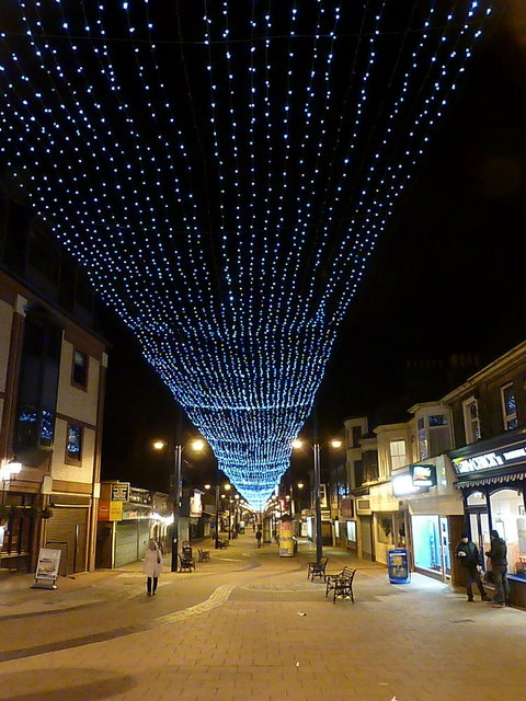Great Yarmouth Christmas Lights Over Chris Downer