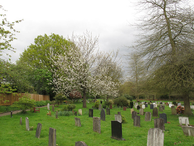 Godstone parish cemetery © Stephen Craven :: Geograph Britain and