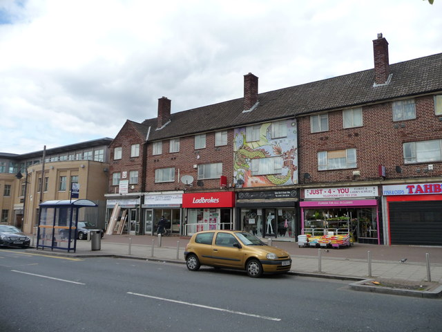 Parade Of Shops With Flats Above Kitts Christine