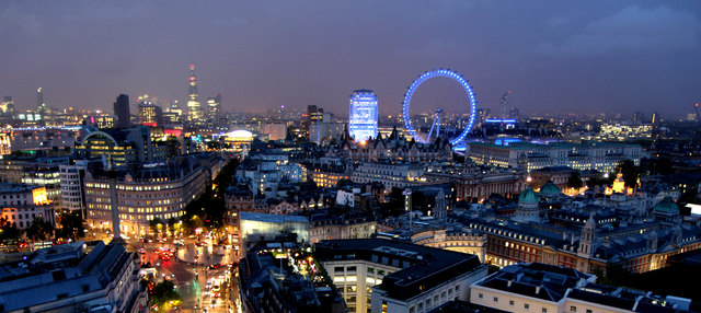 The Penthouse Suite of the New Zealand High Commission building has a panoramic view of the London skyline.