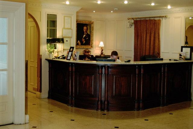 Ennis Old Ground Hotel Reception 169 Joseph