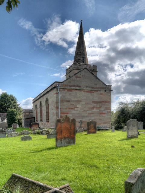 St Michael's Church, Upton Warren © David Dixon cc-by-sa/2.0