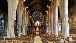 Interior, St Wulfram's Church, Grantham JHannan Briggs
