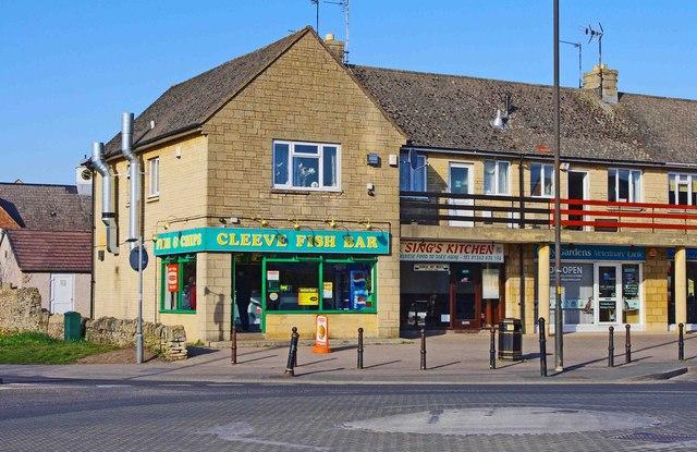 Three Shops In Church Road Bishops P L Chadwick