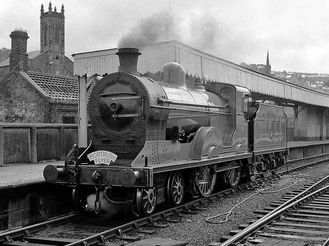 Steam Locomotive In Waterside Station 169 The Carlisle