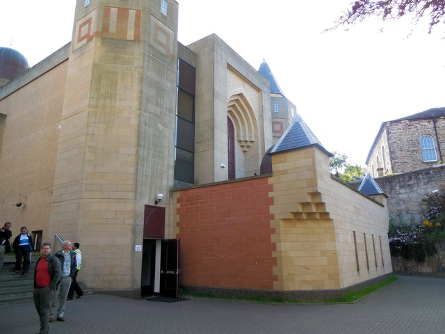 Image result for edinburgh central mosque