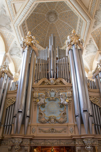The Organ Blenheim Palace 169 David P Howard Geograph