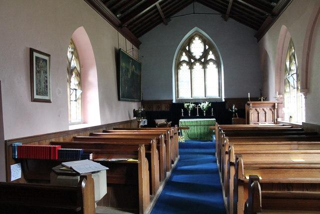 Interior St Andrews Church Stainton JHannan