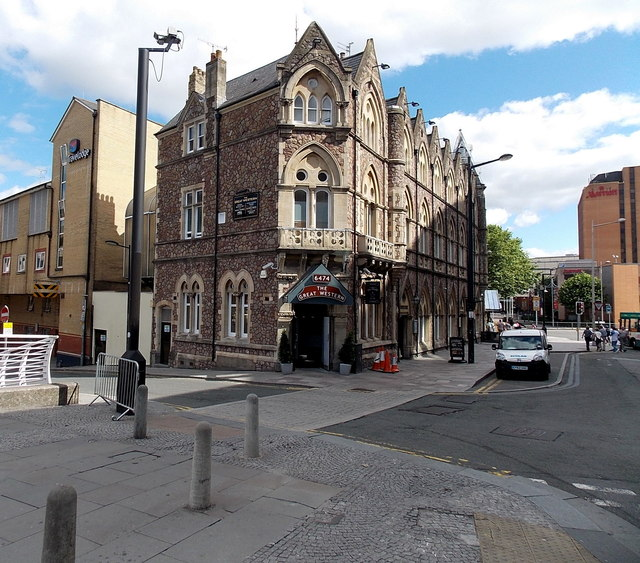 Sw Corner Of The Great Western Pub 169 Jaggery