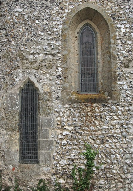 Leper Window, St Mary's Church, Burpham