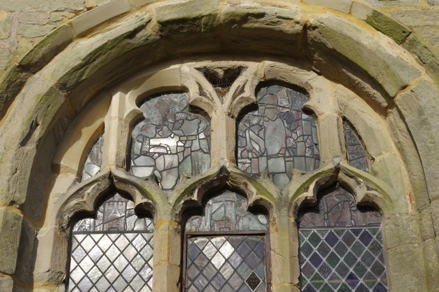 Window - Withybrook Church © Stephen McKay :: Geograph Britain and