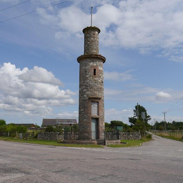 Hector MacDonald monument, Mulbuie