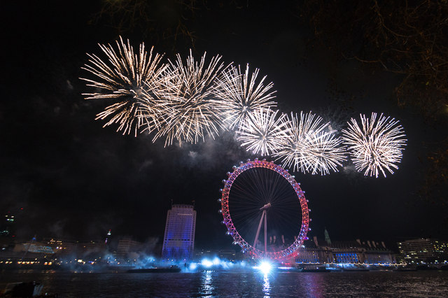 9 iconic places around the world to party on New Year s Eve     Image result for Thames River  London New years eve