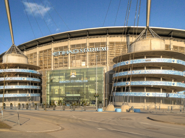 Etihad Stadium, Colin Bell Stand © David Dixon cc-by-sa/2.0 ...