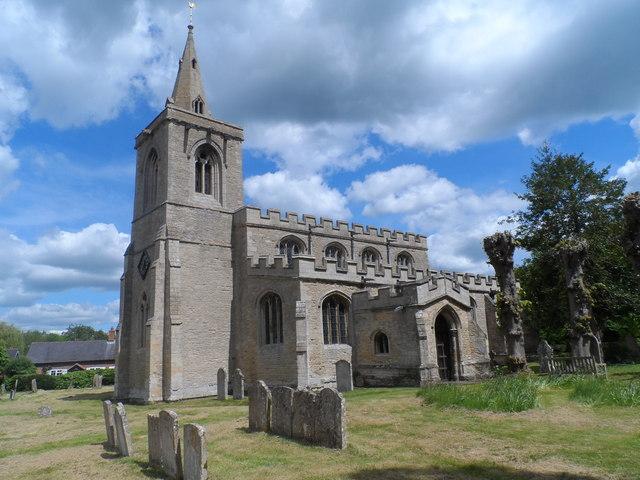 All Saints' church, Upper Dean © Bikeboy :: Geograph Britain and