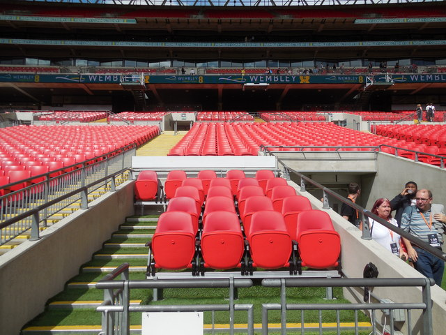 Dug Out Wembley Stadium 169 Paul Gillett Cc By Sa 2 0