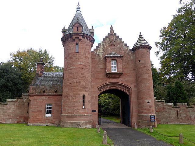 Gatehouse to Ayton Castle