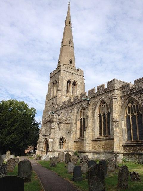 Colmworth Parish church © Dave Thompson cc-by-sa/2.0 :: Geograph