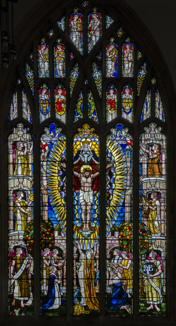 Stained Glass Window Holy Trinity 169 Julian P Guffogg
