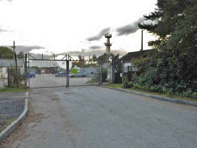 The entrance to Normandy Business Park