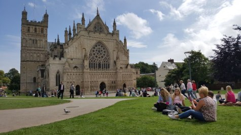 Exeter : Exeter Cathedral © Lewis Clarke cc-by-sa/2.0 :: Geograph ...